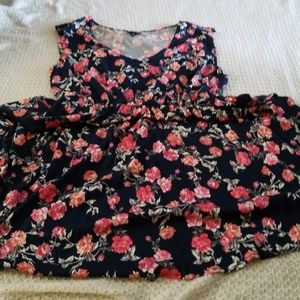 Flowery summer dress